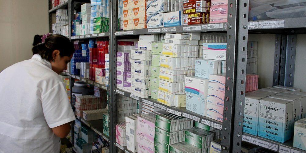 Presume Aguascalientes abasto suficiente de medicinas