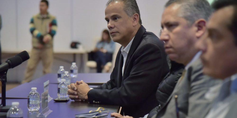 Jesús María estrecha lazos de colaboración con la Secretaría General de Gobierno