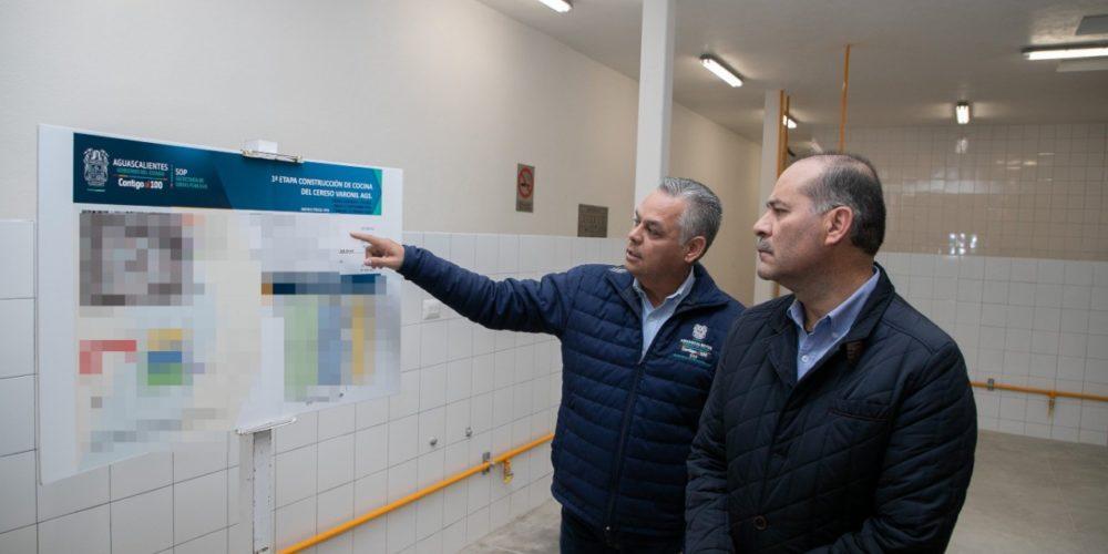 Gobierno de Aguascalientes dignifica instalaciones de personas privadas de su libertad