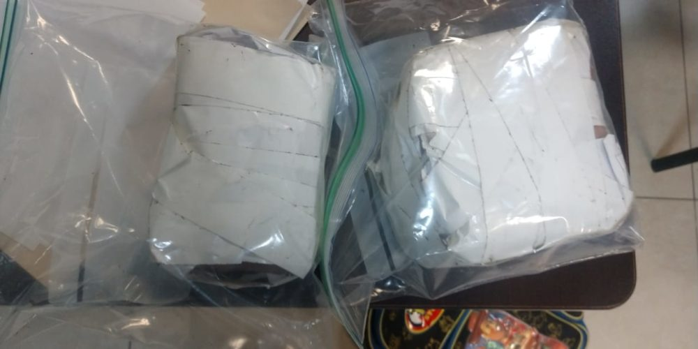 Capturan a distribuidores de droga con un kilo de marihuana en Aguascalientes