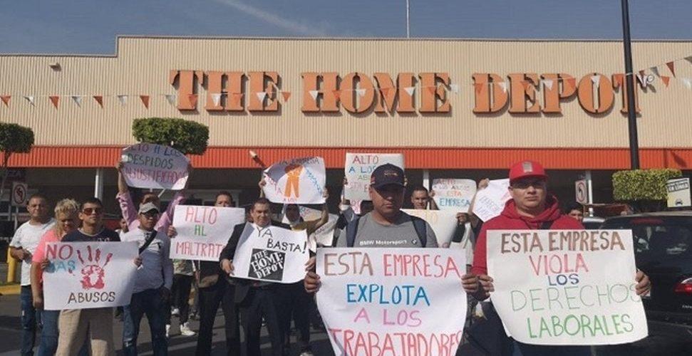 Suman 40 los emplazamientos a huelga contra The Home Depot