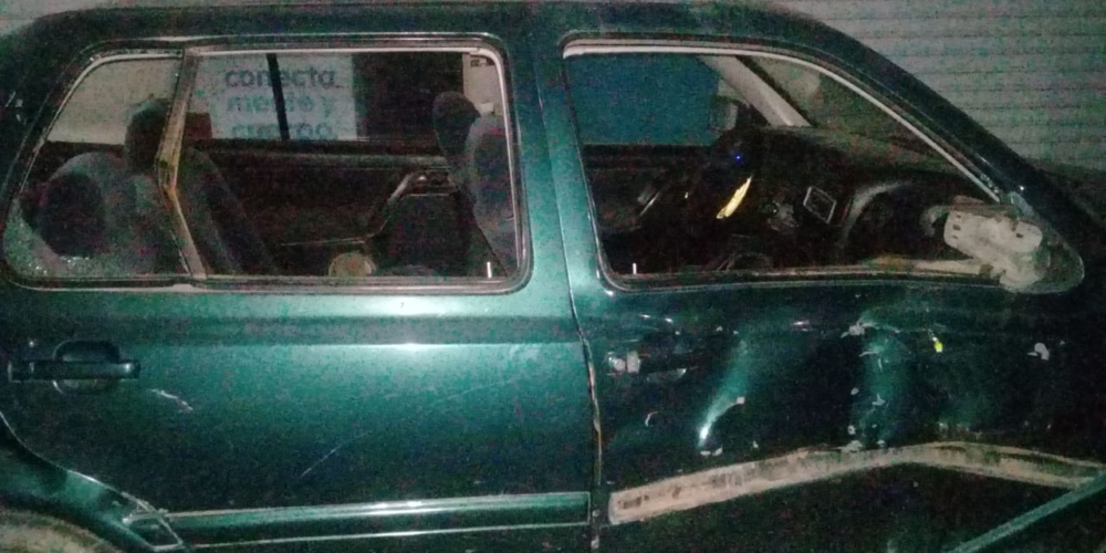 Un herido dejó choque en Rincón de Romos