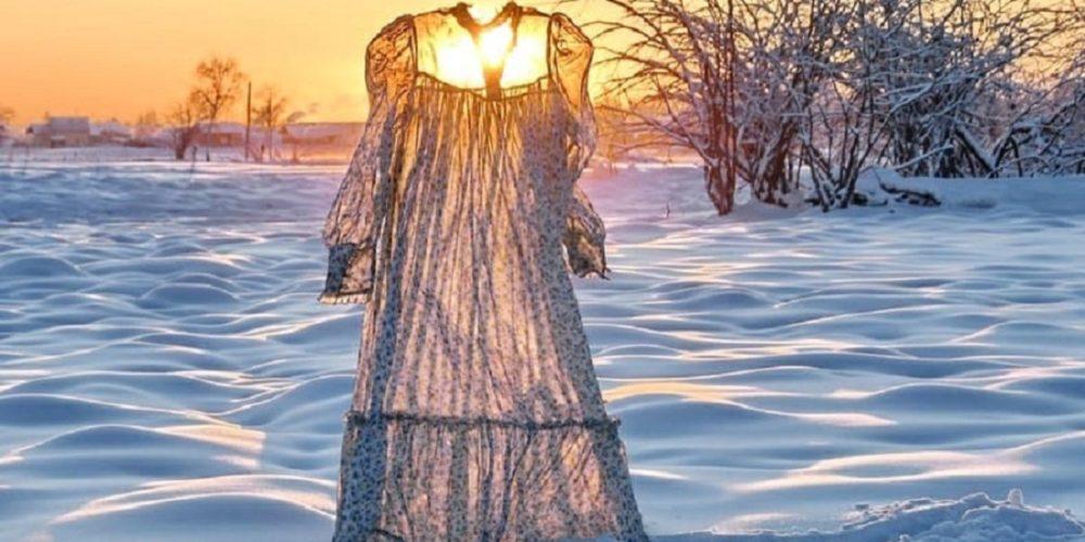 El frío en Rusia es capaz de congelar ¡hasta la ropa!