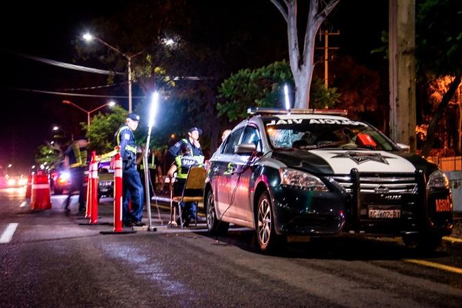 En marcha alcoholímetro en carreteras estatales de municipios del interior
