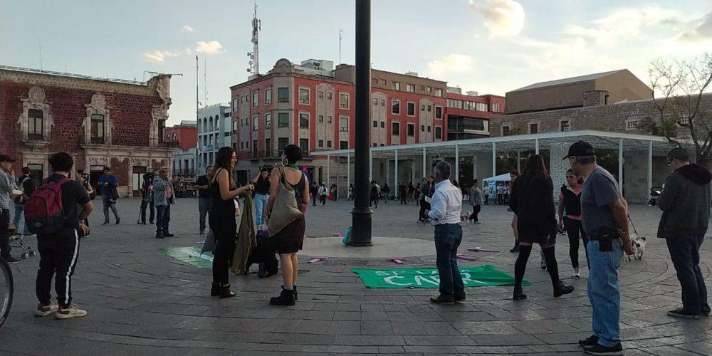 Ve Comunidad Feminista más participación de mujeres en Aguascalientes