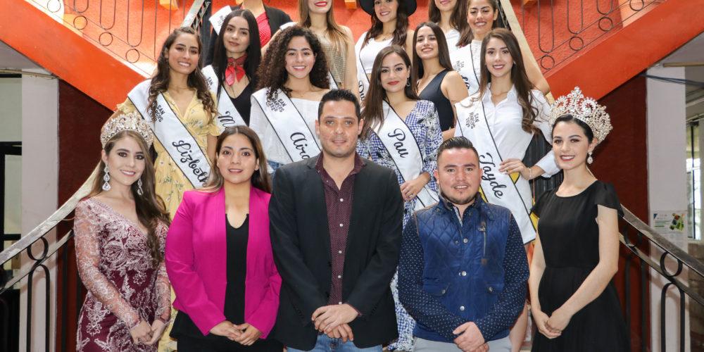 Candidatas a reina de la FNSM 2020 conocieron los atractivos turísticos de Calvillo
