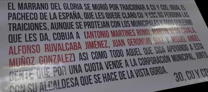 """""""No meto las manos por nadie"""", dice MOS por narcomantas en Aguascalientes"""