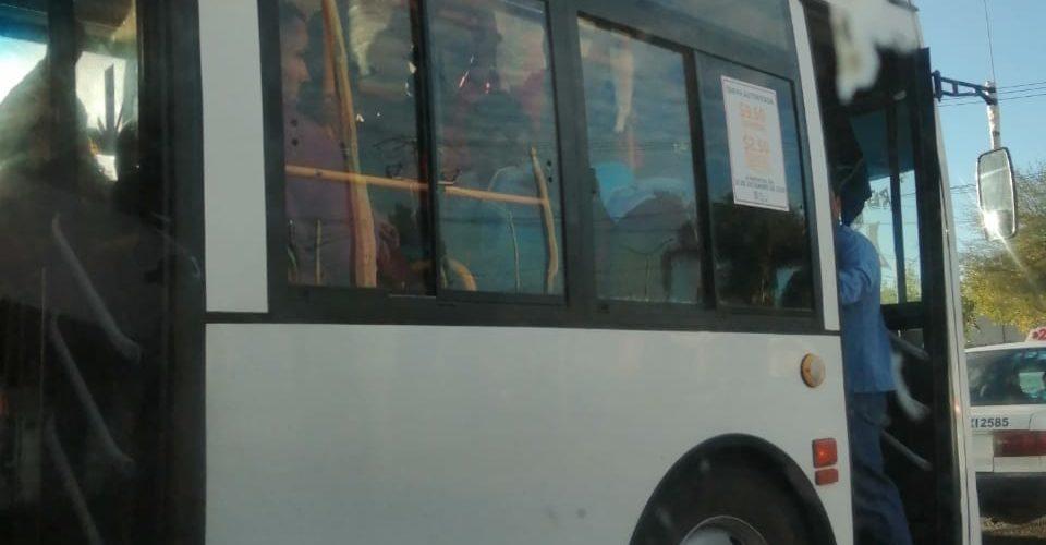 Usuarios demandan más unidades para la ruta 38 en Aguascalientes