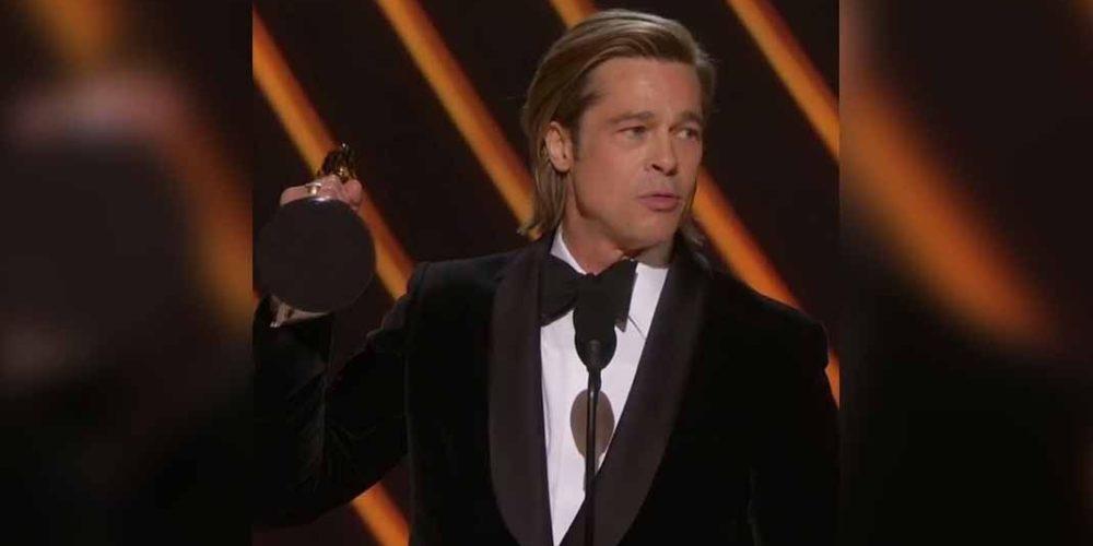 """""""Esto es para mis hijos"""": Brad Pitt se lleva el Oscar al mejor actor"""