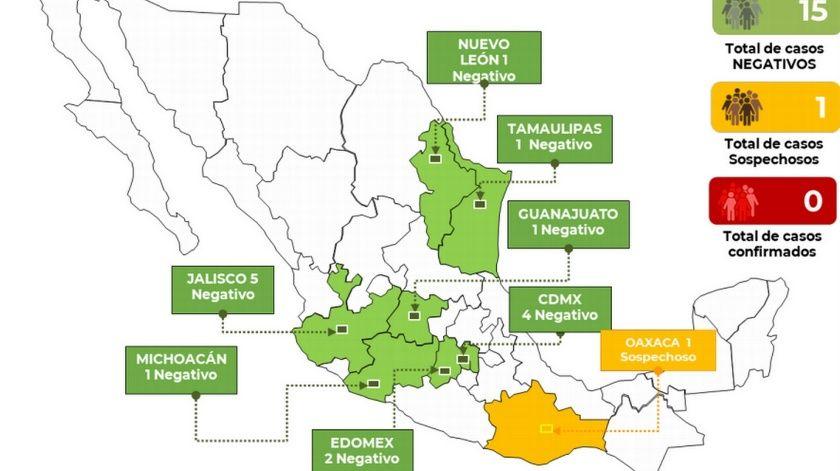 Guanajuato sin coronavirus, descartan caso probable