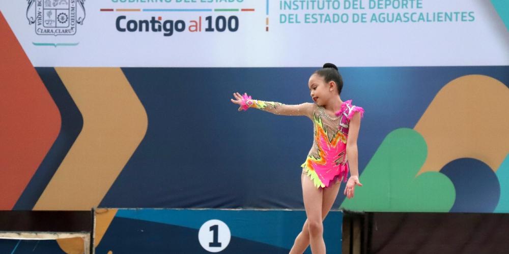 Con éxito avanza la Copa Aguascalientes de Gimnasia Rítmica