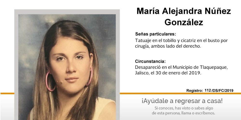 María desapareció en Jalisco, la buscan en Aguascalientes
