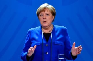 Angela Merkel está en cuarentena