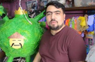Lanzan nueva piñata del Coronavirus
