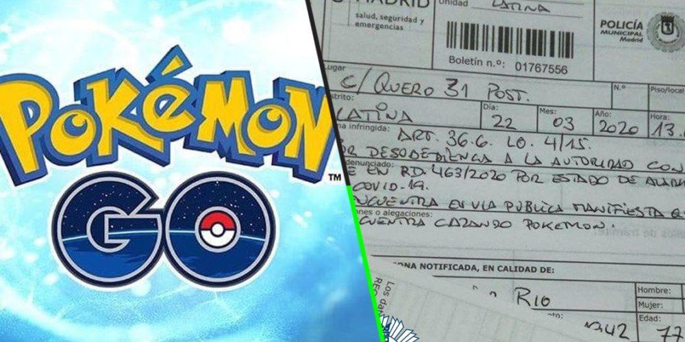 Multan a abuelito que salió a la calle a jugar 'Pokémon Go' en cuarentena