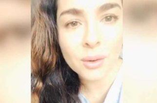 Actriz Danna García da positivo a Covid-19