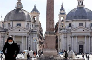 Italia registra 2 mil 503 muertes por coronavirus
