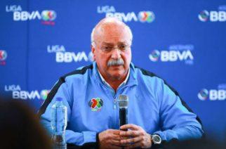 Presidente de la Liga MX da positivo a Covid-19