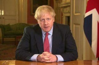Primer ministro del Reino Unido da positivo a coronavirus