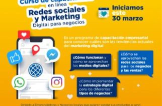 Municipio de Aguascalientes ofrecerá capacitación en línea para emprendedores