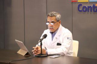 Ahora dice Piza que hay baja de contagios por covid en Aguascalientes