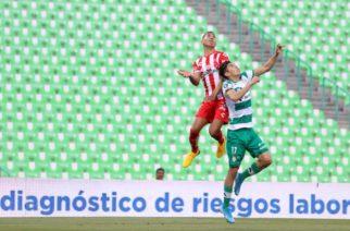 Necaxa suma otra derrota, ahora con Santos