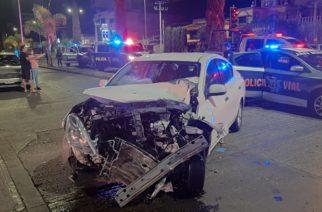 Motociclista muere tras chocar con automóvil en Colosio