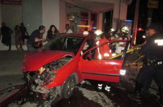 Choque deja dos heridos en Aguascalientes