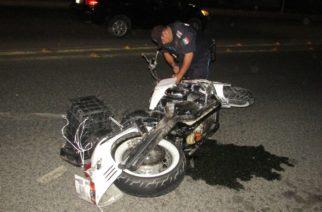 Motociclista atropelló a peatón frente a la clínica 1 del IMSS