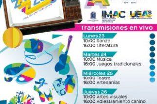 Municipio realiza talleres culturales por internet