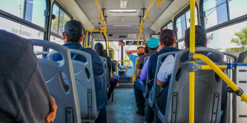 5 de cada 10 usan transporte público para ir a su trabajo en Aguascalientes