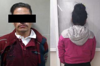 Detienen a sujeto y a una menor de edad por robar en Soriana de Aguascalientes
