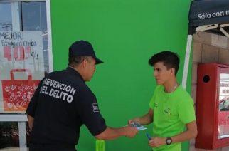 """Policías de JM se suman a campaña """"Que Nuestra Salud, sea Responsabilidad de Todos"""""""