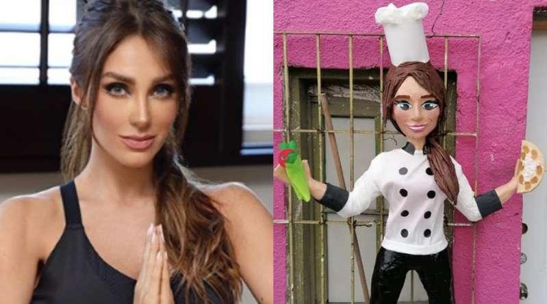 Crean piñata de Anahí y sus famosas enfrijoladas