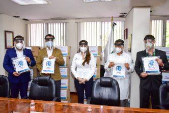 Municipio de Aguascalientes dona 10 mil caretas a personal del sector salud que combate al Covid-19