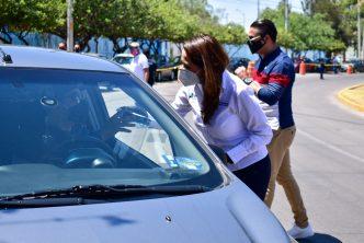 Municipio de Aguascalientes entrega apoyos a choferes de plataformas digitales