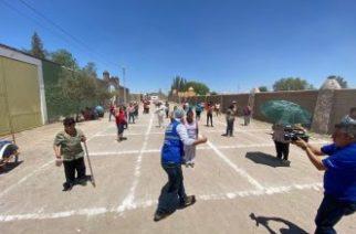 Municipio de Aguascalientes lleva alimentos a familias que trabajan en ladrilleras