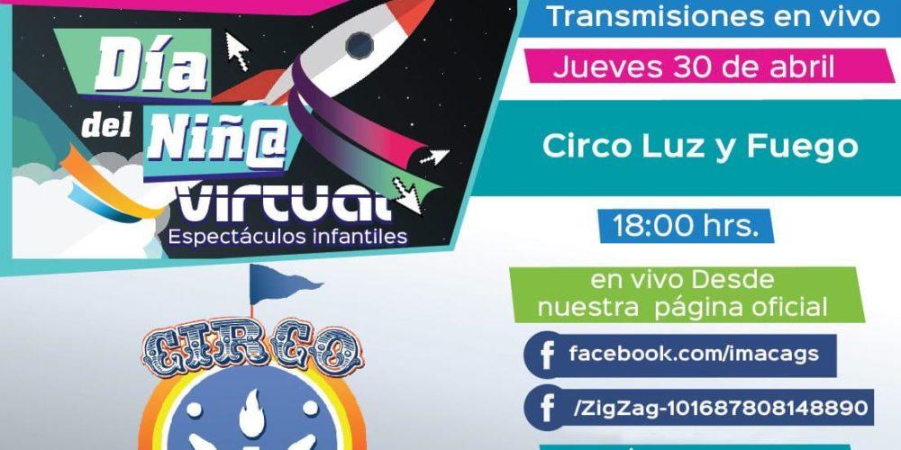 Municipio presentará el espectáculo Circo Luz y Fuego