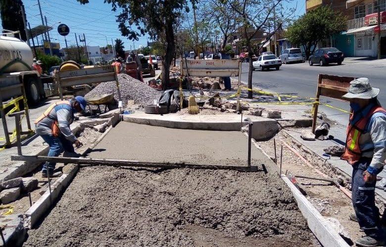 Rehabilitan concreto hidráulico del bulevar Guadalupano