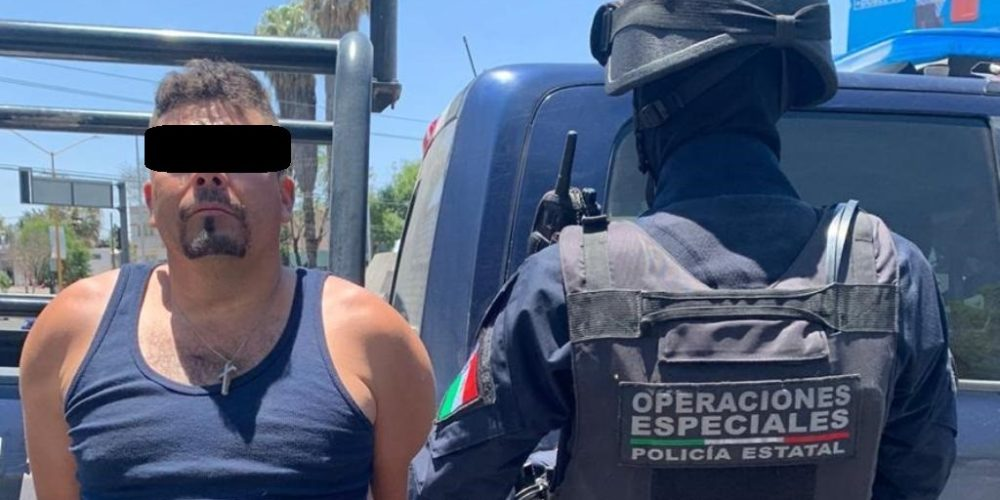 Detienen con droga a sujeto originario de Jalisco en Aguascalientes