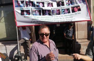 Diputados del PAN traicionaron al   pueblo de Aguascalientes: Comité Insurgente