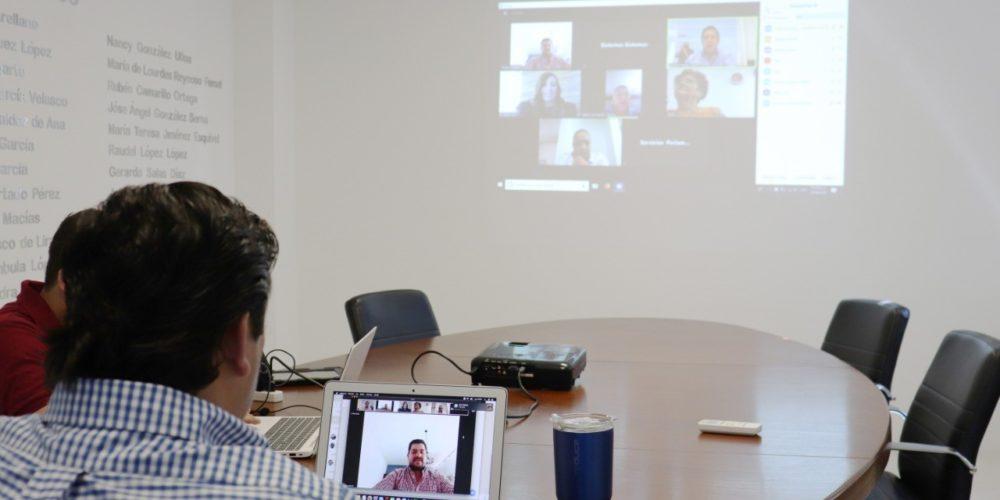 Se reúne virtualmente la Comisión de la Juventud en el Congreso de Aguascalientes
