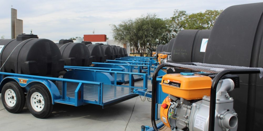 SEDRAE abre convocatoria para adquirir remolques con cisterna y motobomba
