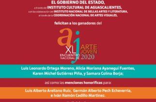 Checa los ganadores de XL Encuentro Nacional de Arte Joven