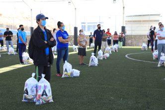 Municipio entrega apoyos en el Morelos I