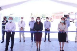 Municipio hace alianza con empresarios para pavimentación de la Central de Abastos
