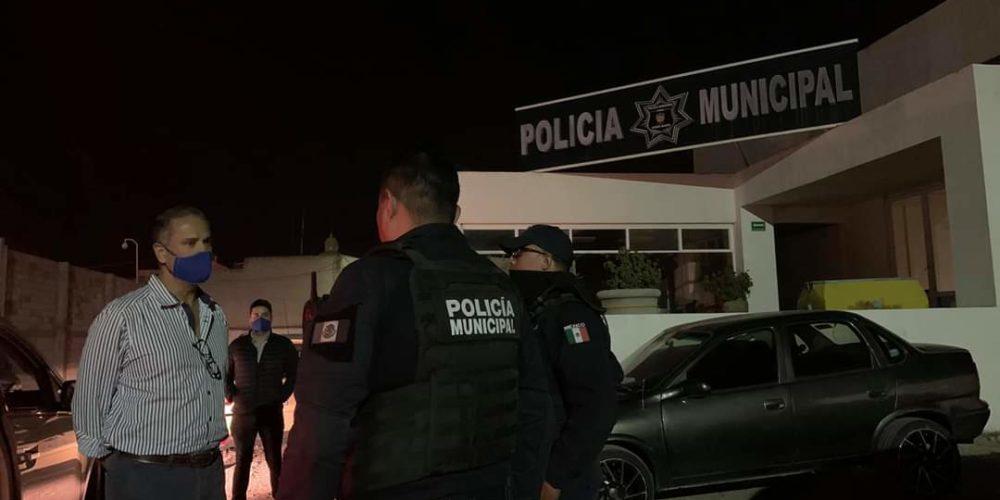 Realiza Antonio Arámbula patrullaje nocturno en Jesús María