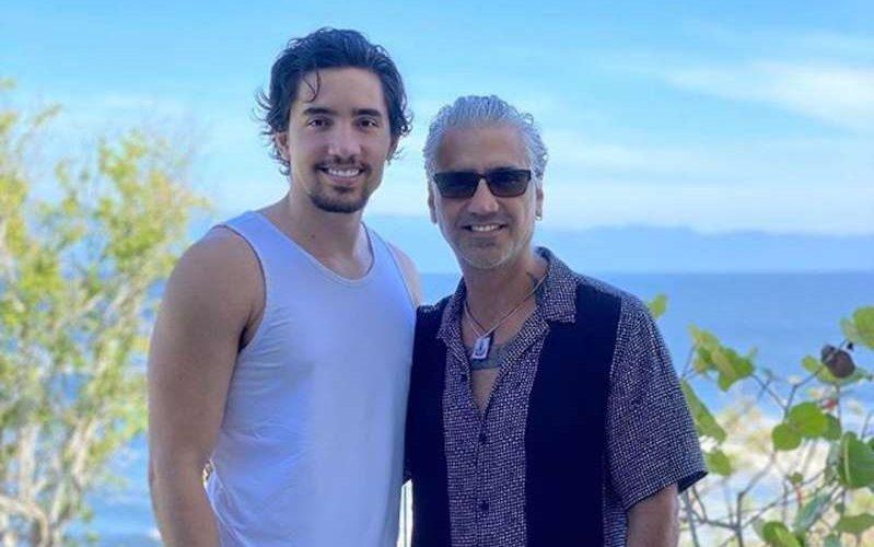 Alejandro Fernández pasa la cuarentena en un lugar secreto de Puerto Vallarta