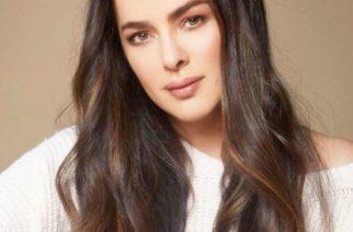 Actriz Danna García da por tercera ocasión positivo a coronavirus