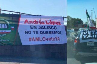 Protestan en contra de AMLO en distintas ciudades del país